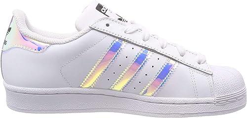 Adidas Superstar J Chaussures de Gymnastique, Mixte Enfant