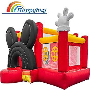 Amazon.com: Happybuy Castillo hinchable para rebote al aire ...
