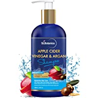StBotanica Apple Cider Vinegar & Organic Argan Oil Hair Shampoo - 300ml - No Sulphate, No Parabens, No Silicon