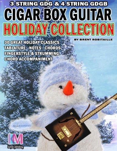Cigar Box Guitar - Holiday Collection: 3 & - 3 String Cigar Box Guitar Book