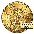 1921 MX - 1947 Mexico Gold 50 Pesos AGW 1.2057 (Random Year) Gold Very Good