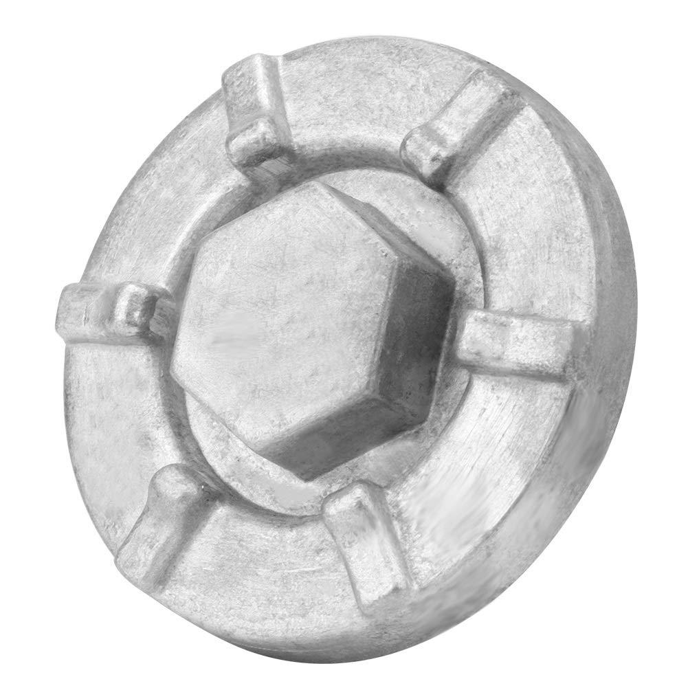 Tap/ón de drenaje de aceite 4HC-15351-00-00 Cubierta del tap/ón de drenaje de aceite del motor para Yamaha BigBear Kodiak Grizzly Rhino