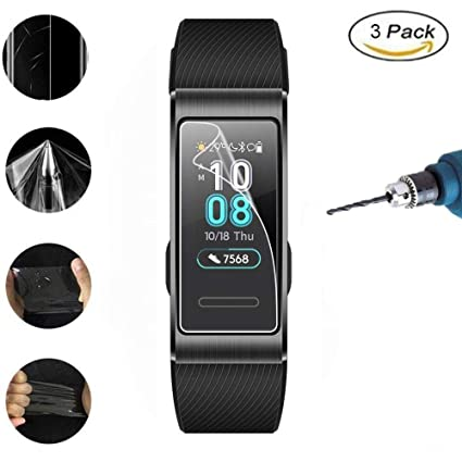 Amazon.com: Vicstar Huawei Band 3 Pro Clear Screen Protector ...