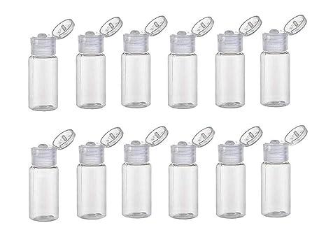 30 g 30 ml transparente vacío plástico muestra tapa taza botella Vial tarro perfecto para maquillaje