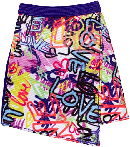 - Barbie Graffiti Mini Skirt Fashion