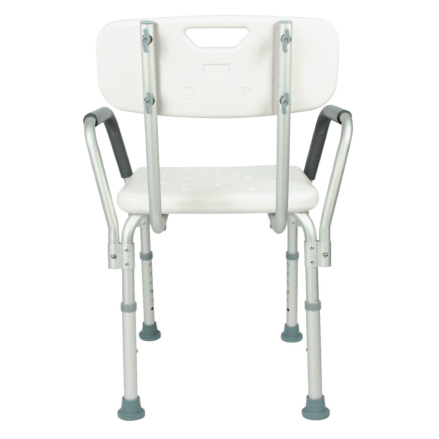 COMFORTABLE DESIGN  Best shower chair to sit comfortably and securely while  bathing  Ergonomic back support fits in most showers or bathtubs Shower Chair with Back by Vive   Bathtub Chair w  Arms for  . Disabled Bathtub Chairs. Home Design Ideas