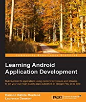 Learning Android Application Development Front Cover