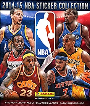 NBA Basketball 2014-15 Sticker Collection 2014-15 NBA Sticker Collection Album by Panini