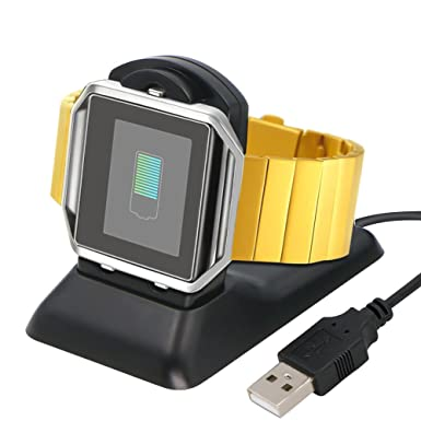Fitbit Blaze de batería, Panycase Fitbit Blaze Cargador ...