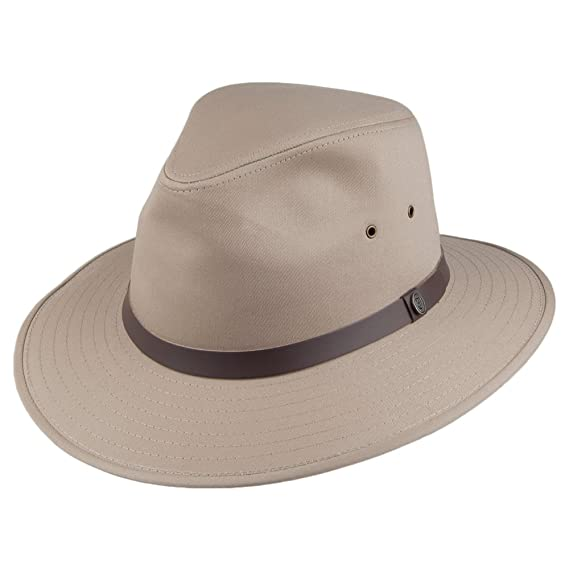 45a5589a84832 Jaxon   James Cotton Safari Fedora - British Tan  Amazon.co.uk  Clothing