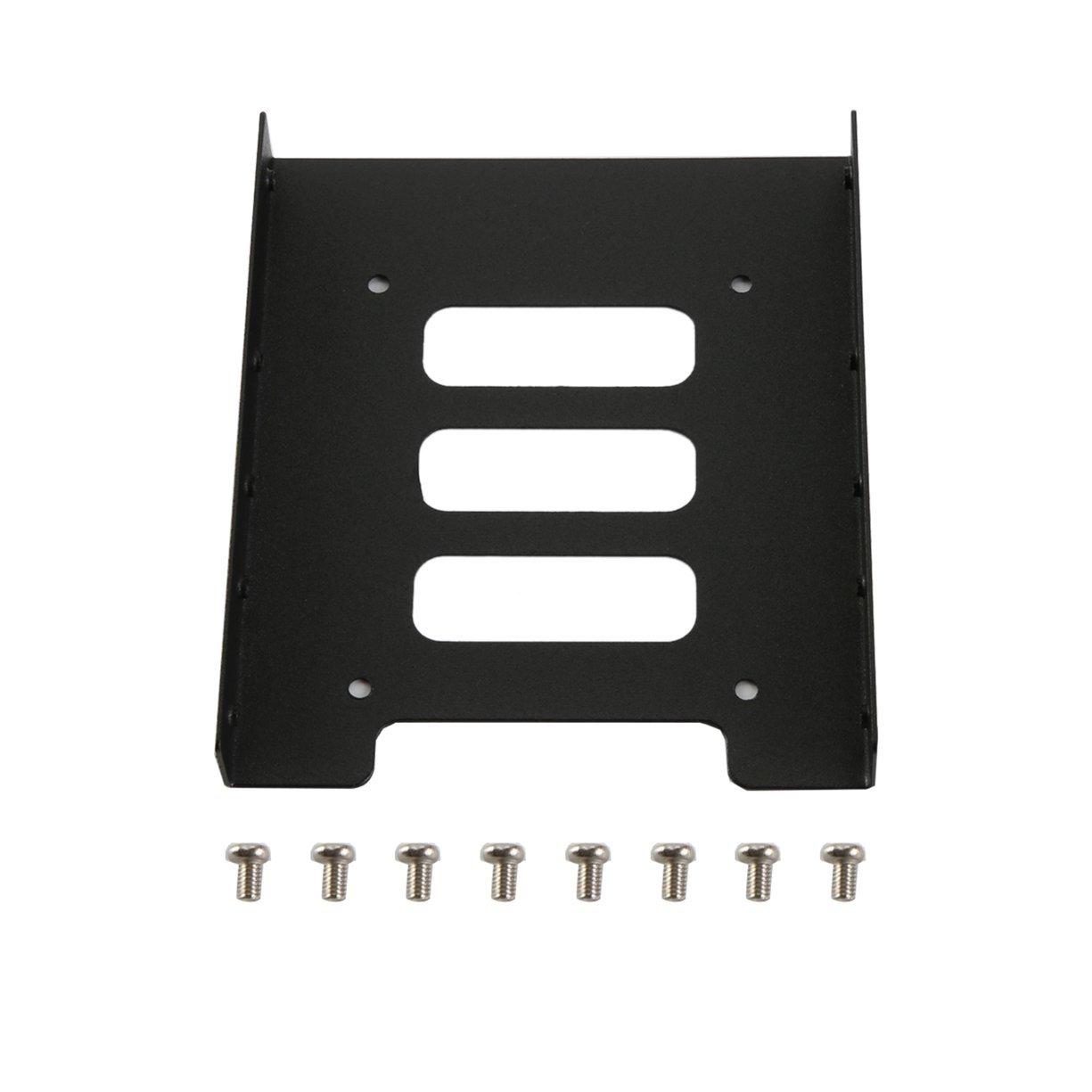 Detectoy 2.5 Pulgadas a 3.5 Pulgadas SSD HDD Soporte de Montaje ...
