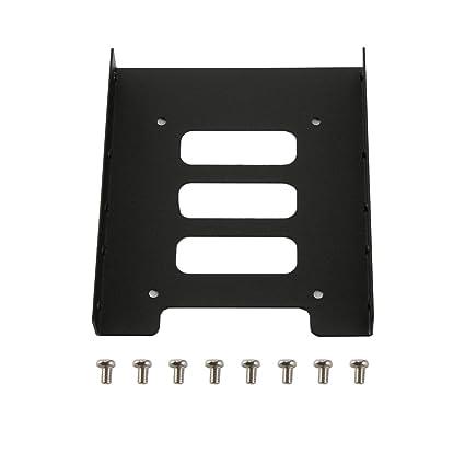 Detectoy 2.5 Pulgadas a 3.5 Pulgadas SSD HDD Soporte de Montaje del Adaptador de Metal Soporte