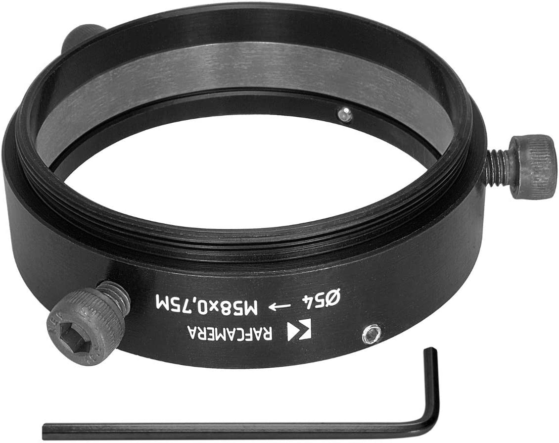 54mm clamp to M58x0.75 Male Thread Adapter for Kowa Anamorphic 35 1.5X