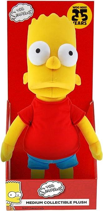 Amazon Com The Simpsons Medium Bart Plush Toys Games