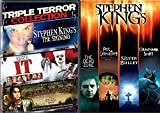 Stephen King Collection Stephen King Collection The Dead Zone, Pet Cemetery, Graveyard Shift, Silver Bullet, Movie IT / The Shining / Salem's Lot DVD the Master of Horror Feature bundle