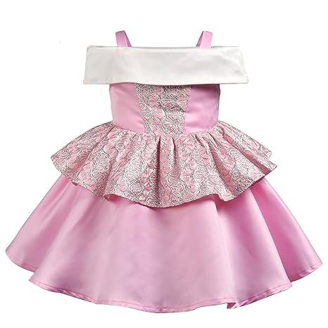 Vestido de princesa para niña, traje de fiesta de cosplay ...