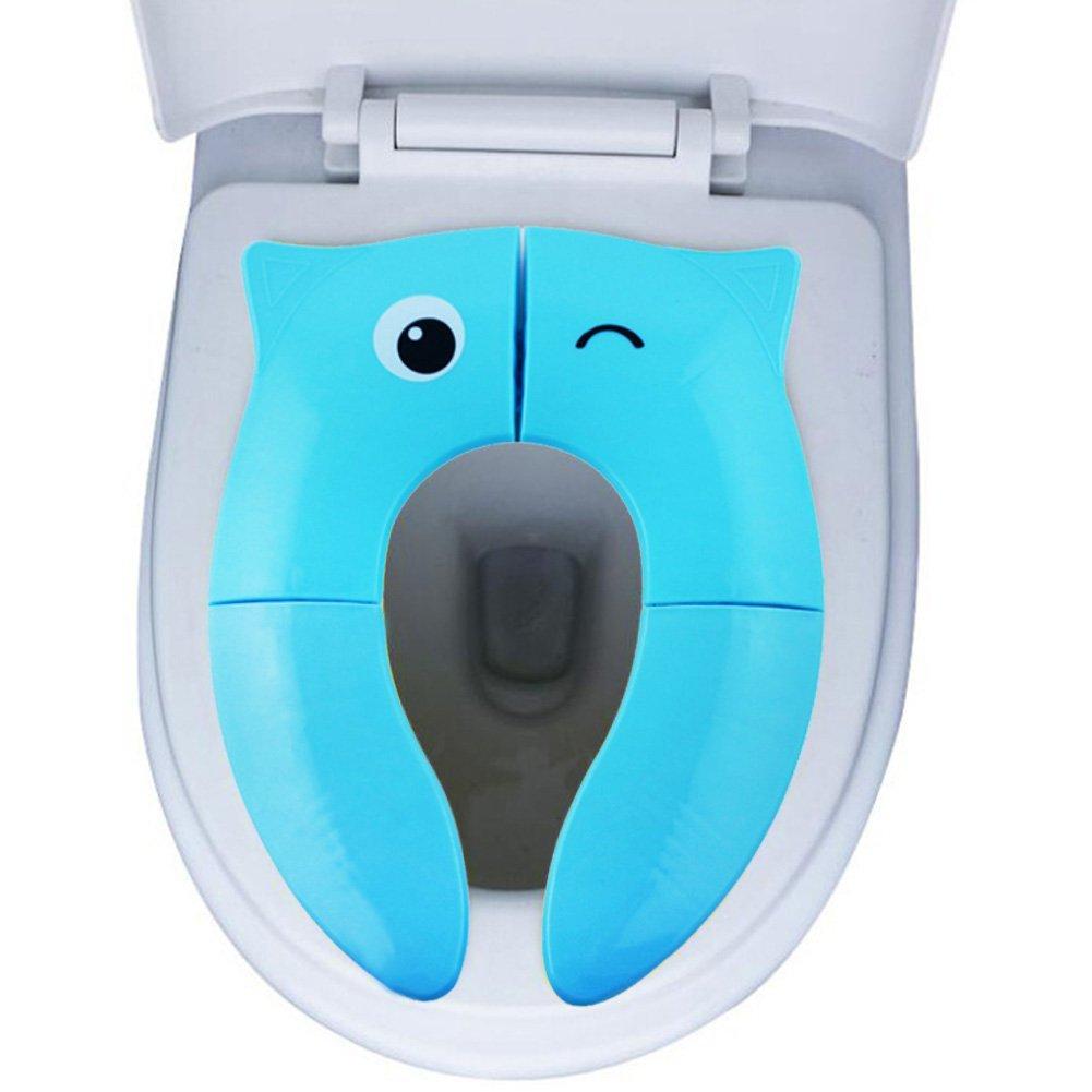 Per si/èges pliants de toilette pour des enfants Ensembles de toilette denfants pour des WC portatifs pour des b/éb/és de voyage