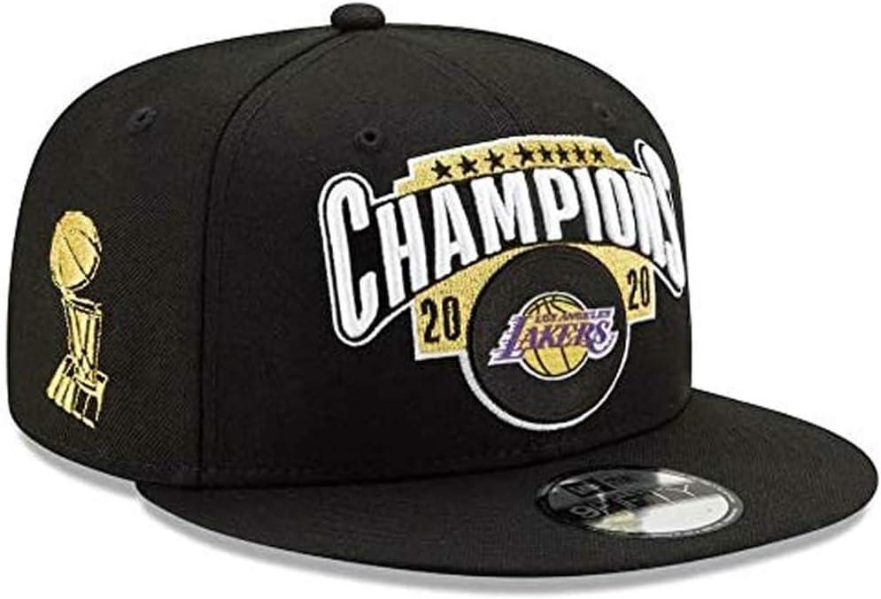 N//G Sombrero del Campeonato Lakers 2020 Recuerdo del Campeonato de Baloncesto Gorra Deportiva Transpirable Sombrero para Correr al Aire Libre