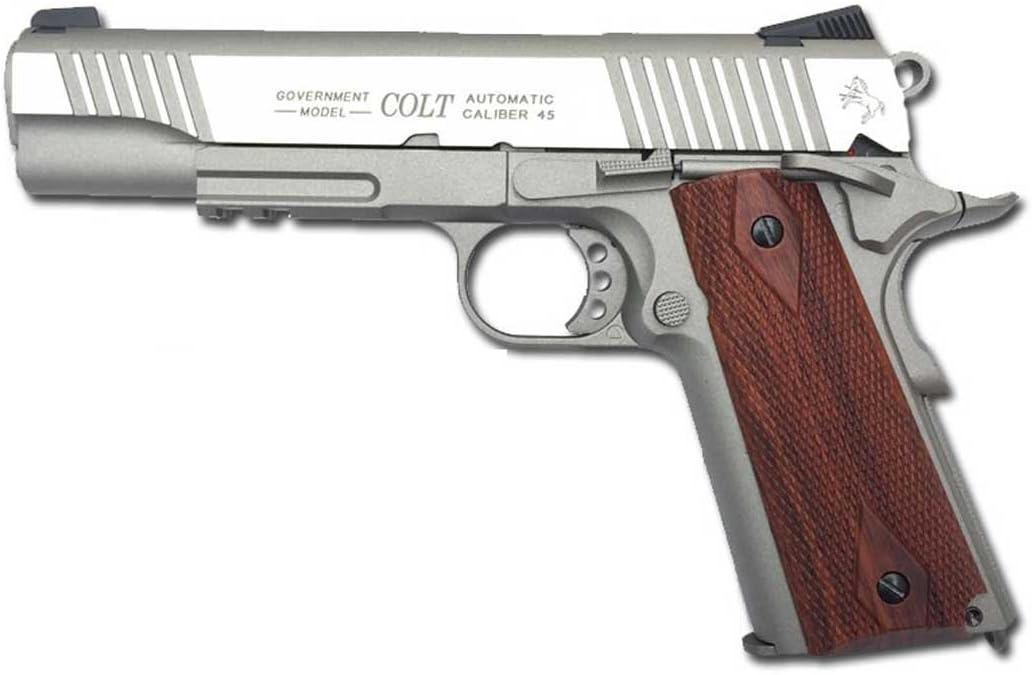 CyberGun Colt 1911- Gas C02 Calibre 6mm. 1.1 Julios de Potencia