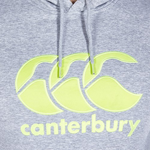 AW16 Canterbury Classic Hoody - Pale Grey Marl