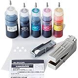 エレコム 詰め替えインク キャノン BCI-370 BCI-371対応 5色セット 5回分 THC-371370SET5