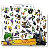 Lego Batman Stickers - 4 Sheets of Stickers