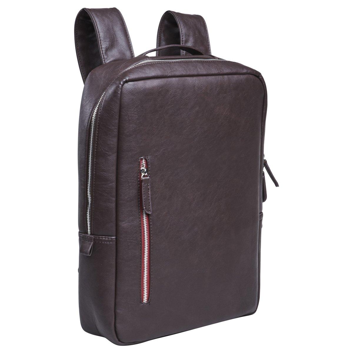 Laptop Backpack Briefcase MacBook Bag-Case - 13-14 inch, Slim Business Professional Bag Notebook/ Apple MacBook Pro Retina/ iPad Pro 12.9/ Dell xps 13/ Tablet sleeve - Brown