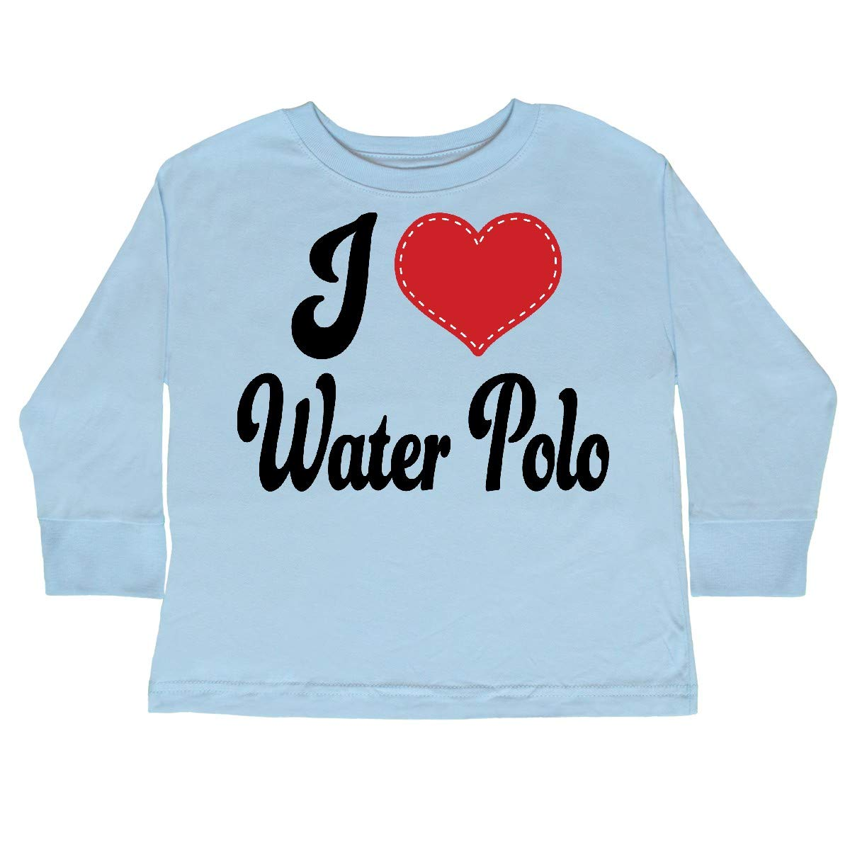 inktastic I Love Water Polo Sports Toddler Long Sleeve T-Shirt