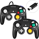 VOYEE Controller Replacement for Gamecube Controller, 2Pack Wired GC Gamepads Compatible with Nintendo Gamecube/Wii…