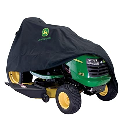 amazon com john deere 46 in x 44 in black riding mower cover for
