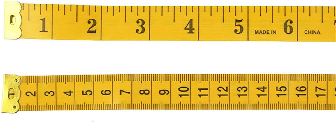 SIMYJOY Soft Tape Measure Dual Sided Body Measuring Ruler for Measuring Body Sewing Tailor Cloth