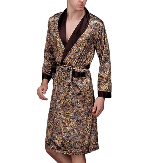 Pijamas Mujer Hombre Elegantes Floreadas Pijama Otoño ...
