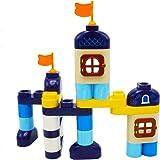 Kidazon - Castle Building Block Set for Boys Girls Toddler Age 3,4,5,6,7,8+