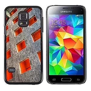 [Neutron-Star] Snap-on Series Teléfono Carcasa Funda Case Caso para Samsung Galaxy S5 Mini (Not S5), SM-G800 [Architettura Piazza Ordine profonda]
