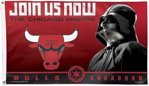 Bandera de Chicago Bulls Star Wars Darth Vader: Amazon.es ...