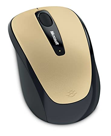 Microsoft Mobile Mouse 3500 - Gold Keyboards, Mice & Input Devices at amazon