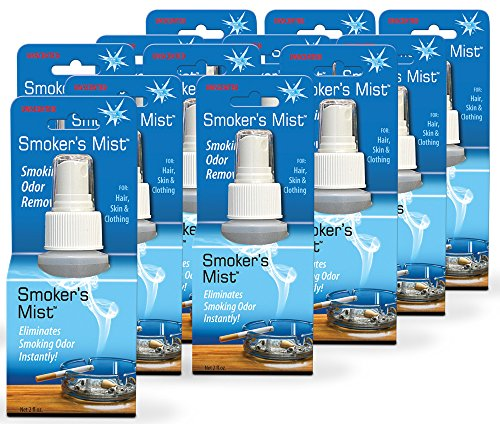 - Stink Free Smoker's Mist Smoke Odor Eliminator, 12 Bottles (2 Fl. Oz. Ea.) - Eliminators & Remover of Cigarette Smoke Odor & Freshener for Clothes, Car, Home, etc.