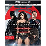Batman v Superman: Dawn of Justice  (4K Ultra HD + Blu-ray + Digital HD) (2 Disc) (Bilingual) Ultimate Edition