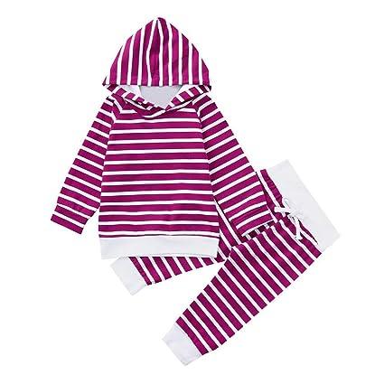 Qiusa Ropa infantil unisex para bebés bebés recién nacidos 4b528d33476