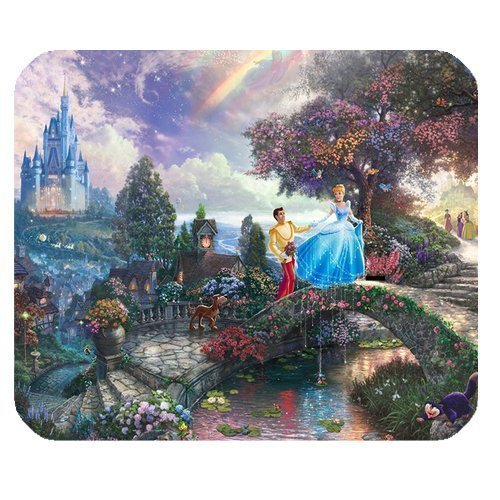 ROBIN YAM Personalized Disney Princess Rectangle Non-Slip Rubber Mousepad Gaming Mouse Pad -RYMP16184