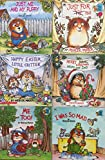 little critters 6 book set happy easter little critter merry christmas mom and dad just for you just me and my puppy i was so mad me too
