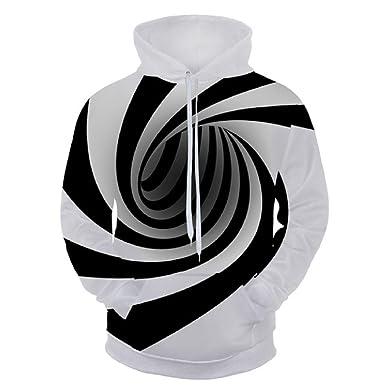 3D Vortex Hoodies Casual Hooded Sweatshirt Streetwear Style Pullover Plus Size Sportswear 3d Tracksuits Men Outwear