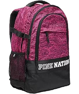 a30029caf8d Amazon.com  VICTORIA SECRET PINK NATION BACK PACK BACKPACK BLACK ...