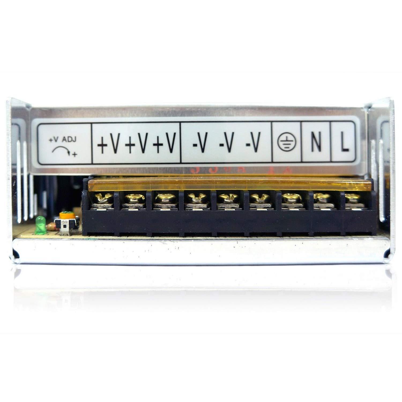 Led Etc 24 Volts De Puissance Nrpfell S-350-24 Changer De Source DAlimentation 350W 24V14.6A Ac//Dc Transformateur Conducteur Int/érieur Pour Cnc Machine Diy