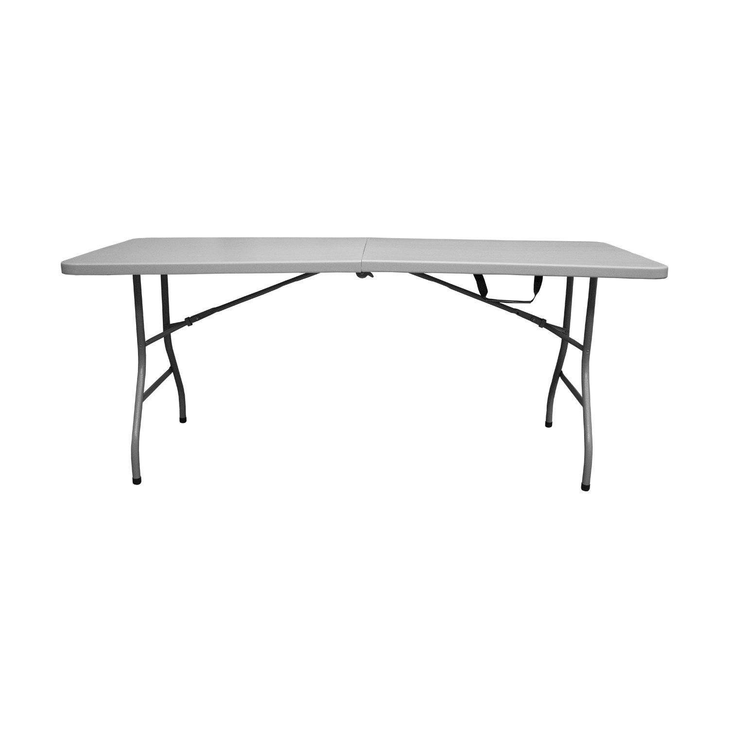 Snap Drape Table In A Snap   6 Foot 400 Lb Capacity Center Folding Table ...