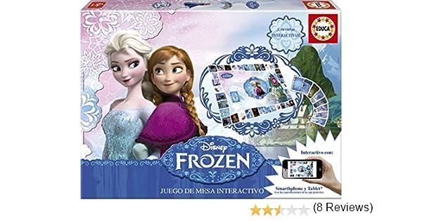 Educa Borrás Frozen Juego de Mesa, 2 X 100 Piezas (16219): Amazon.es: Juguetes y juegos