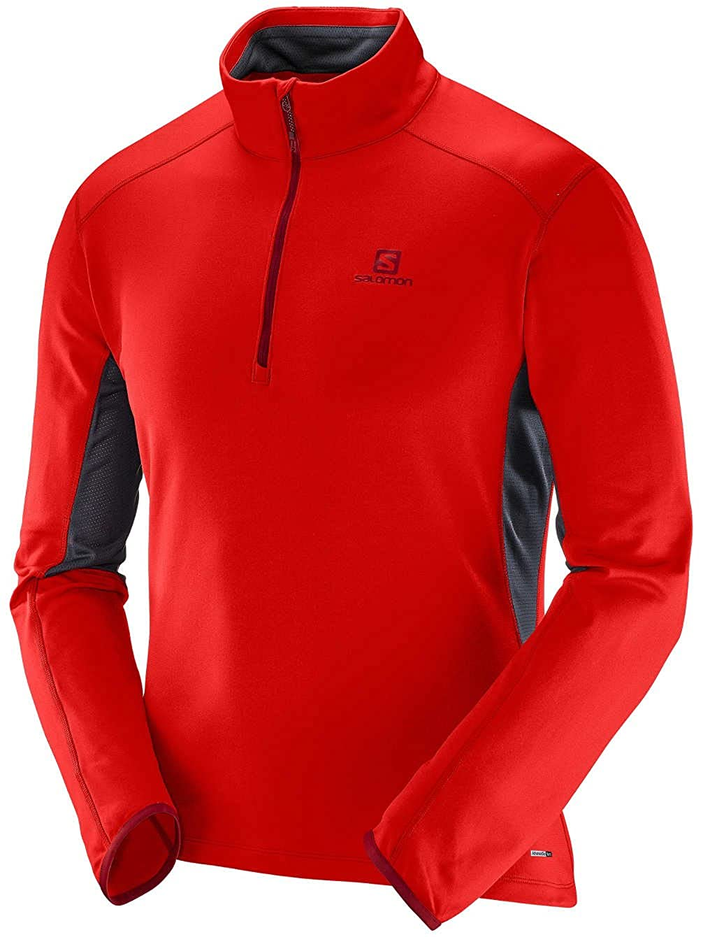 Salomon Herren Fleecepullover Discovery Active Fleece Pullover
