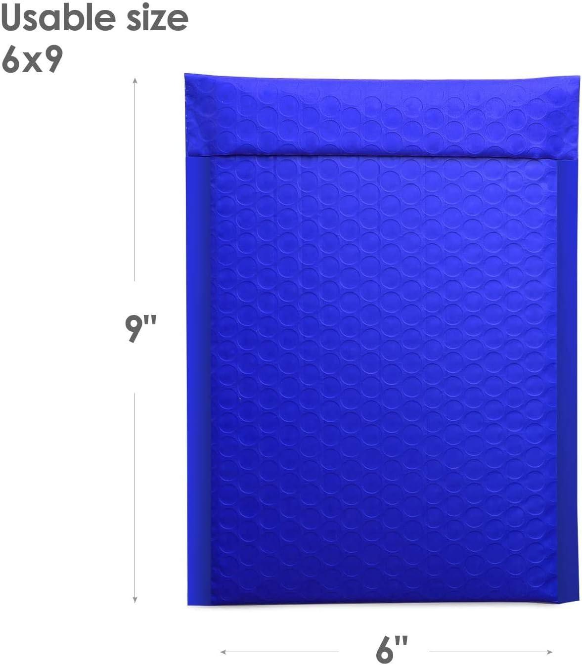 Switory 50 piezas A5 15,3cm/×26,9cm cartero de burbujas con sobres burbujas cartero de burbujas sellando su propio paquete verde