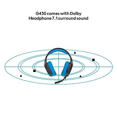 Tremendous Logitech G430 Gaming Kopfhorer Blau Amazon De Computer Zubehor Wiring Digital Resources Inamapmognl