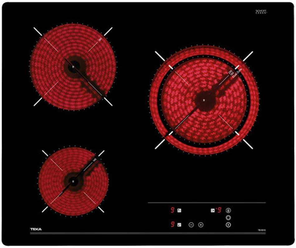 Teka TB6310 Integrado Cerámico Negro - Placa (Integrado, Cerámico, Vidrio, Negro, 14,5 cm, 18 cm): 154.87: Amazon.es: Grandes electrodomésticos